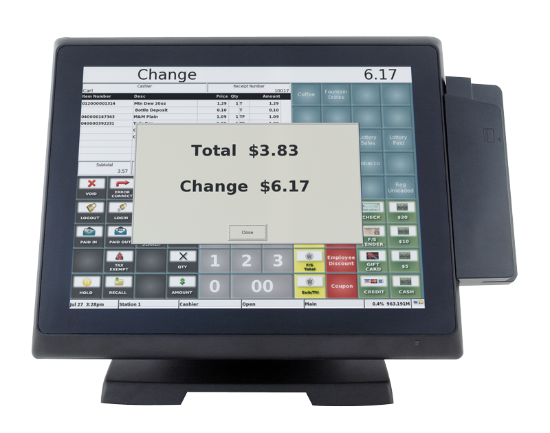 Image of a Breeze True Flat POS System